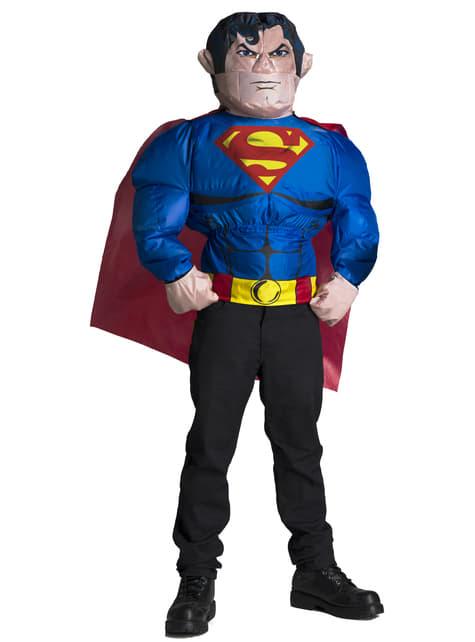 Fato insuflável de Super-Homem para homem