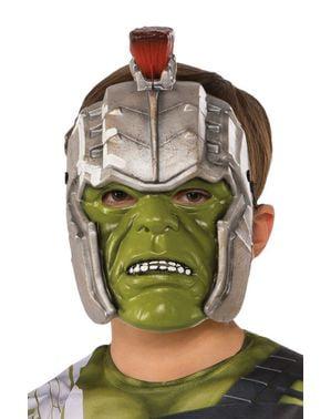 Masque Hulk guerrier enfant