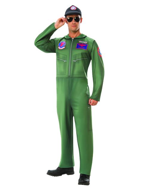 Klassiek Top Gun kostuum voor mannen