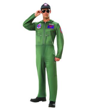 Klassisk Top Gun kostyme til menn