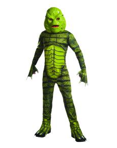 Disfraz de El Monstruo de la Laguna Negra para niño a3f43d8b092