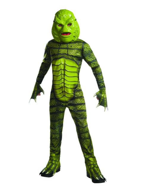 Chlapecký kostým Příšera z Černé Laguny