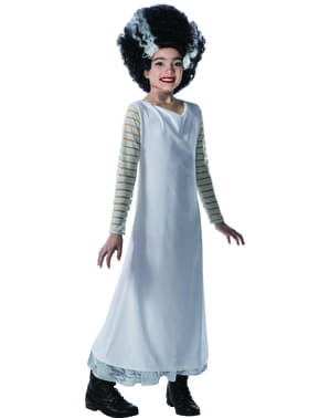 Costume della Fidanzata di Frankenstein per bambina