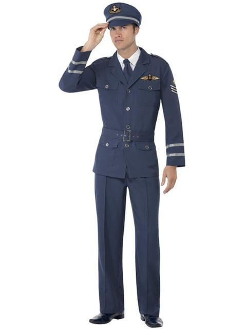 Disfraz de capitán de las fuerzas aéreas