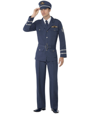 Air Force kapitány felnőtt jelmez