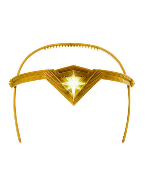 Tiara de Wonder Woman para niña - DC Superhero girls