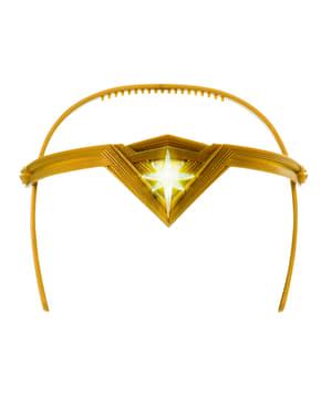 Tiara de Wonder Woman para menina - DC Superhero girls