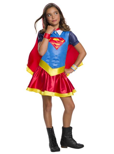 Fato de Supergirl para menina - DC Superhero girls