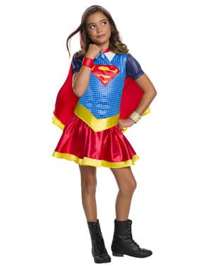 Supergirl kostume til piger - DC Superhelte piger