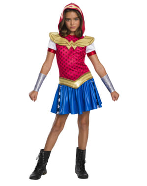 Maskeraddräkt Wonder Woman barn - DC Superhero girls