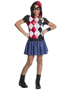 Harley Quinn Kostüm für Mädchen - DC Superhero Girls