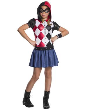 תחפושת הארלי קווין לנערות - DC גיבור ילדות