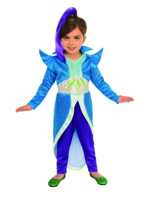 Costume di Zeta para niña - Shimmer and Shine