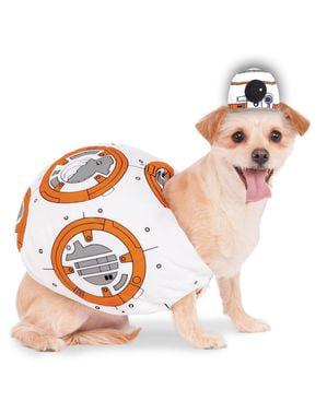 BB-8 hunde kostume - Star Wars