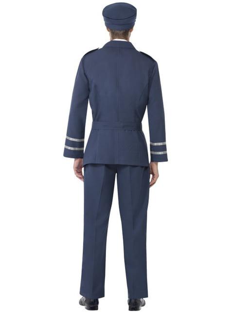 Disfraz de capitán de las fuerzas aéreas - hombre