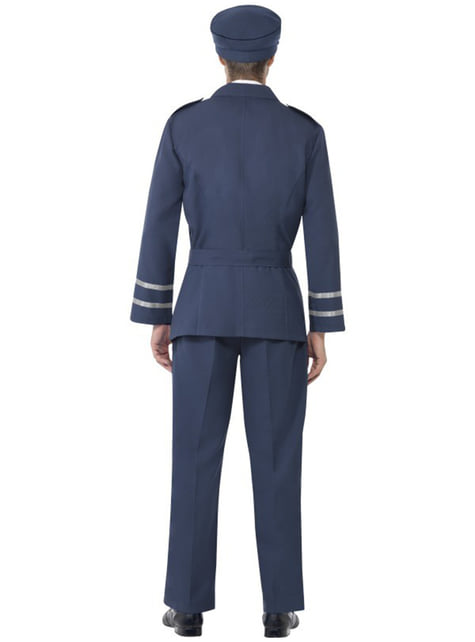 Flygvapnet Kapten Maskeraddräkt