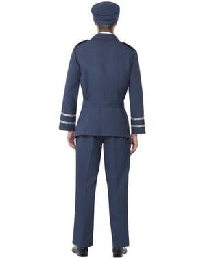 空軍大尉のアダルトコスチューム