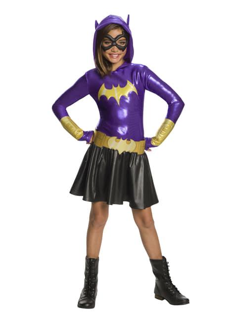 Disfraz de Batgirl para niña deluxe - DC Super Hero Girls