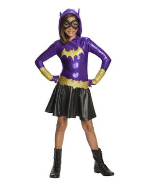 Deluxe Batgirl kostyme til jenter - DC Superhelt Jenter