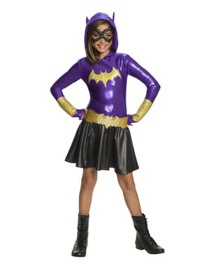 Maskeraddräkt Batgirl barn deluxe - DC Super Hero Girls