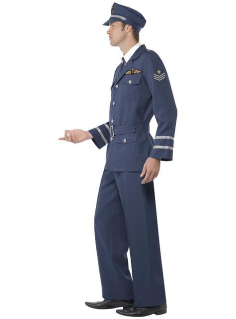Disfraz de capitán de las fuerzas aéreas - original