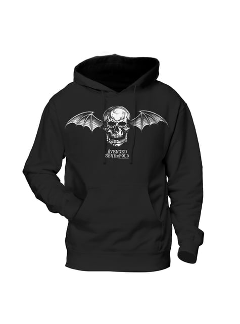 Avenged Sevenfold hoodie Death Bat Logo for adults