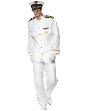 Deluxe kapteeni aikuisten asu