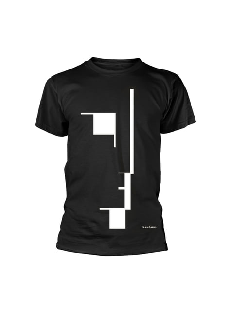 Bauhaus Big Logo Unisex T-Shirt voor volwassenen