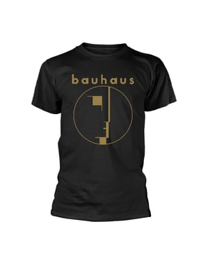 Koszulka unisex złote logo Bauhaus dla dorosłych