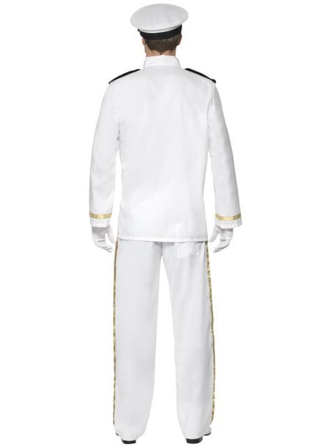 Disfraz de capitán Deluxe para hombre - hombre