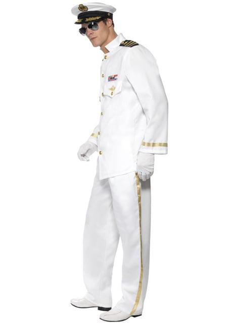 Kaptajn kostume til mænd