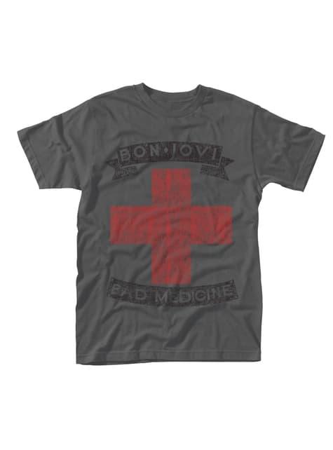 T-shirt Bon Jovi Bad Medicine homme