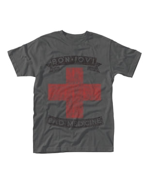 Camiseta Bon Jovi Bad Medicine para hombre