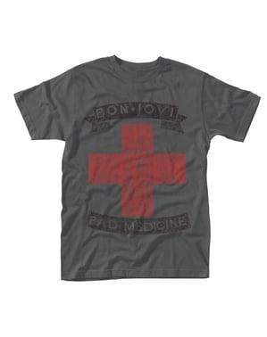 T-shirt Bon Jovi Bad Medicine para homem