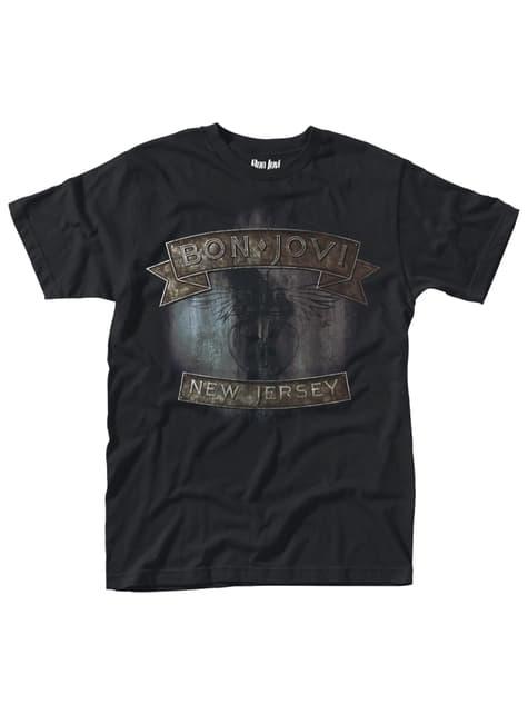 Bon Jovi T-shirt voor volwassenen