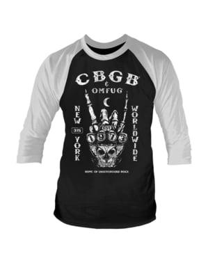 Tričko pro muže CBGB založeno 1973 raglánový rukáv