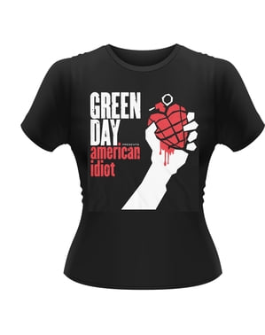 T-shirt Green Day American Idiot femme
