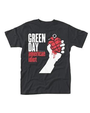 Yeşil Gün Amerikan Salak Erkek Tişörtü