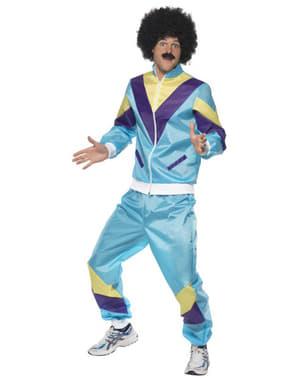 Kostým pro dospělé sportovec z 80. let