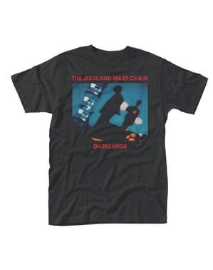 Мъжка тениска за възрастни - веригата Исус и Мери