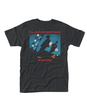 T-shirt The Jesus And Mary Chain Darklands para homem