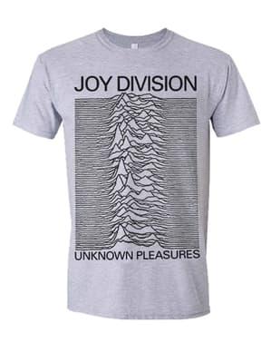 Joy Division Pleasures T-Skjorte til Menn i Grå