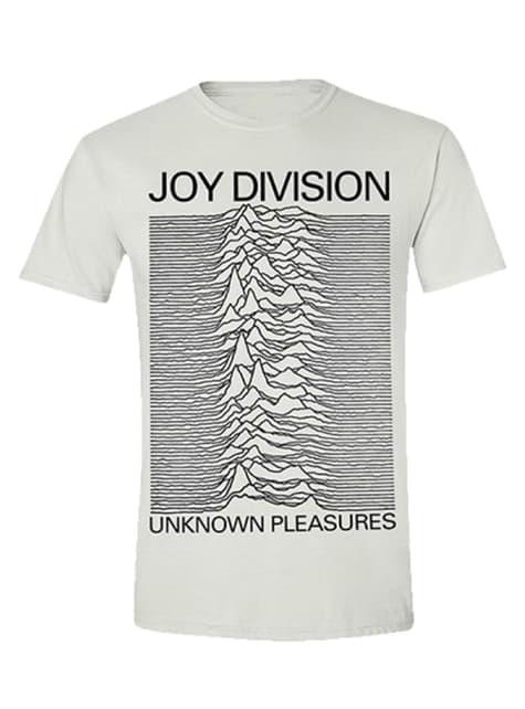 Joy Division Pleasures T-Shirt for Men in White