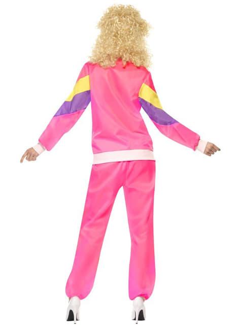 Disfraz años 80 en chándal para mujer - mujer