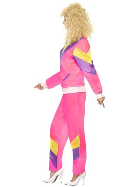 Disfraz años 80 en chándal para mujer - original
