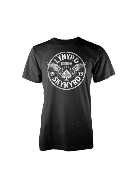 T-shirt Lynyrd Skynyrd Freebird Wings para homem