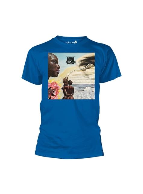 Camiseta Miles Davis Bitches Brew para hombre