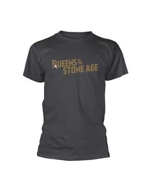 Queens of the Stone Age Logo Unisex T-Shirt voor volwassenen