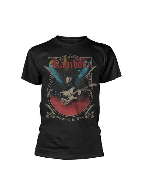 T-shirt Rainbow Memories In Rock para homem