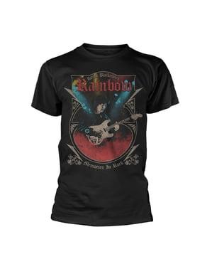 Erkekler için Rock T-Shirt Gökkuşağı Anıları